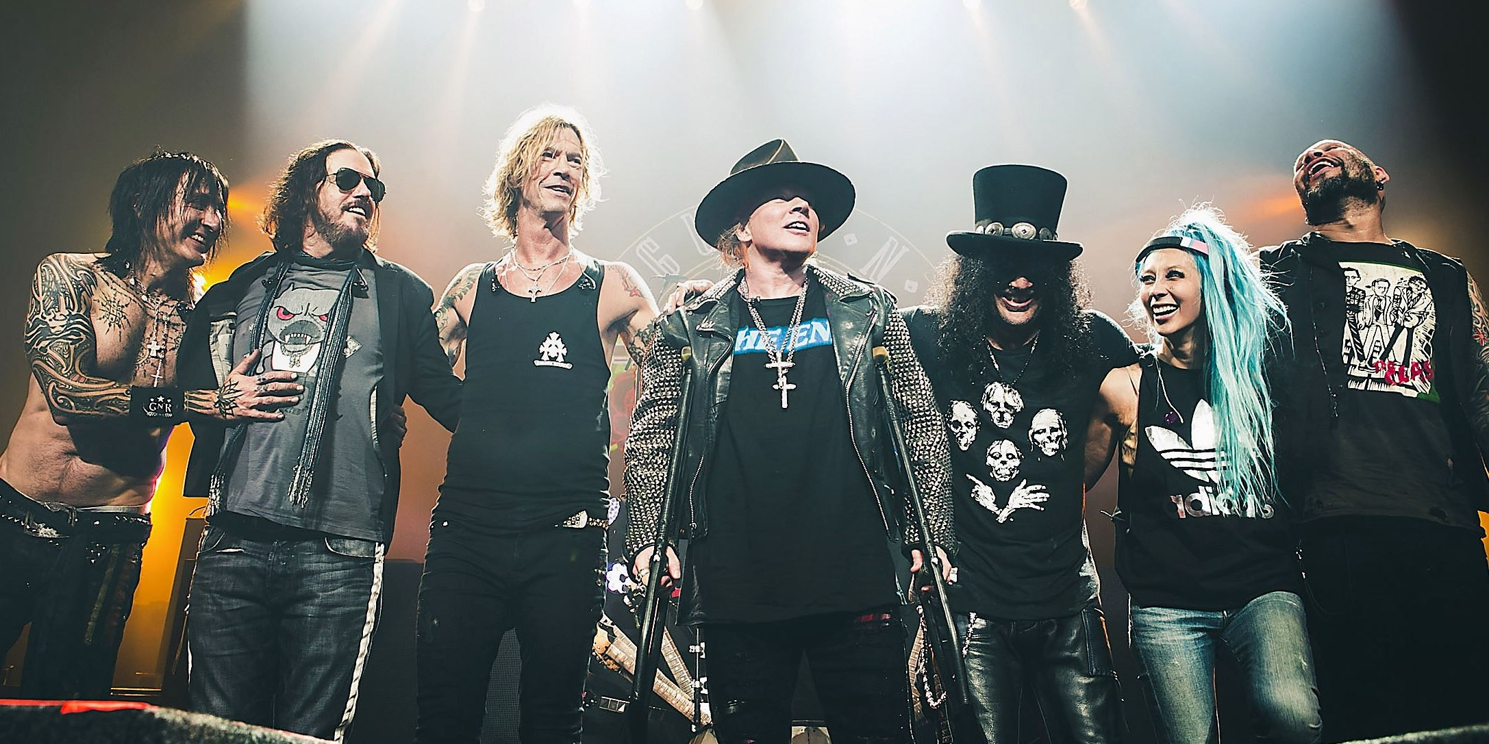 Here's what you can expect from the first show in Singapore by Guns N' Roses