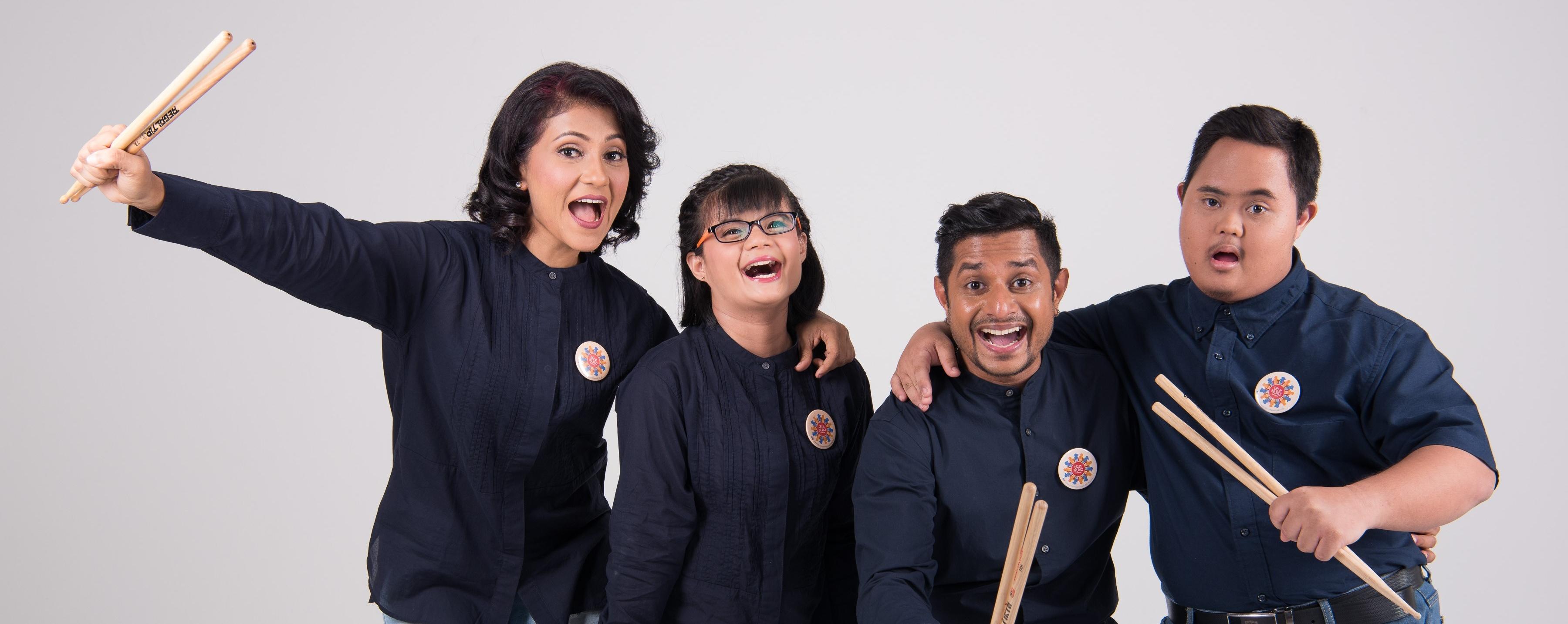 Esplanade Presents: Red Dot August - Drum Prodigy Singapore Inclusive Ensemble
