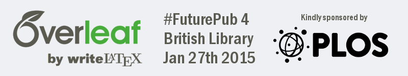 Overleaf PLOS futurepub banner logo January 27th