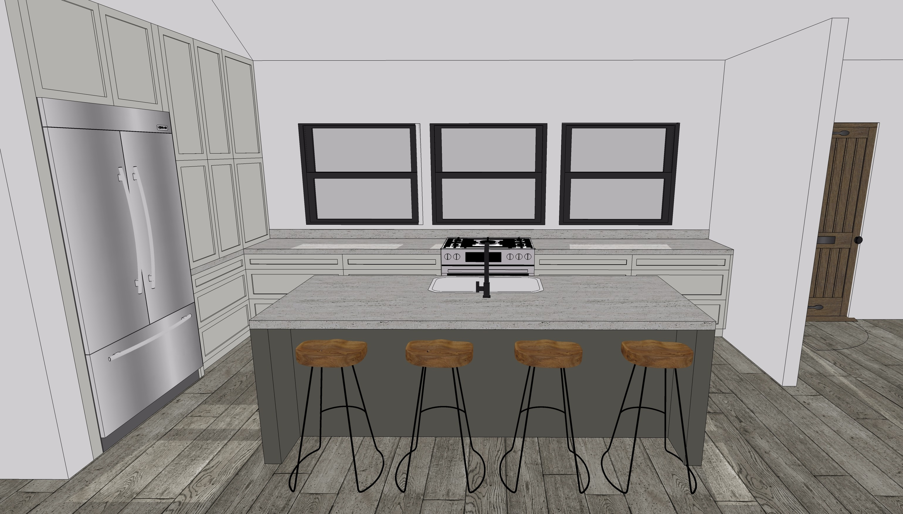 Drawing in SketchUp