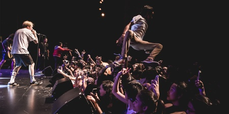 "GIG REPORT: Neck Deep scores remarkable highs with good ol' ""posi vibes"""