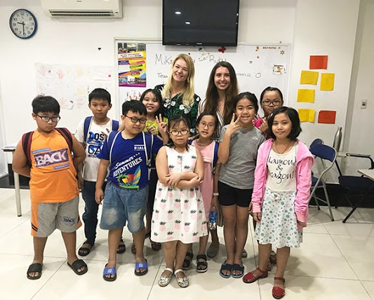 Paid Teaching English Job in Vietnam