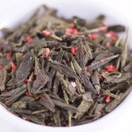 Strawberry Green Tea from Ovation Teas