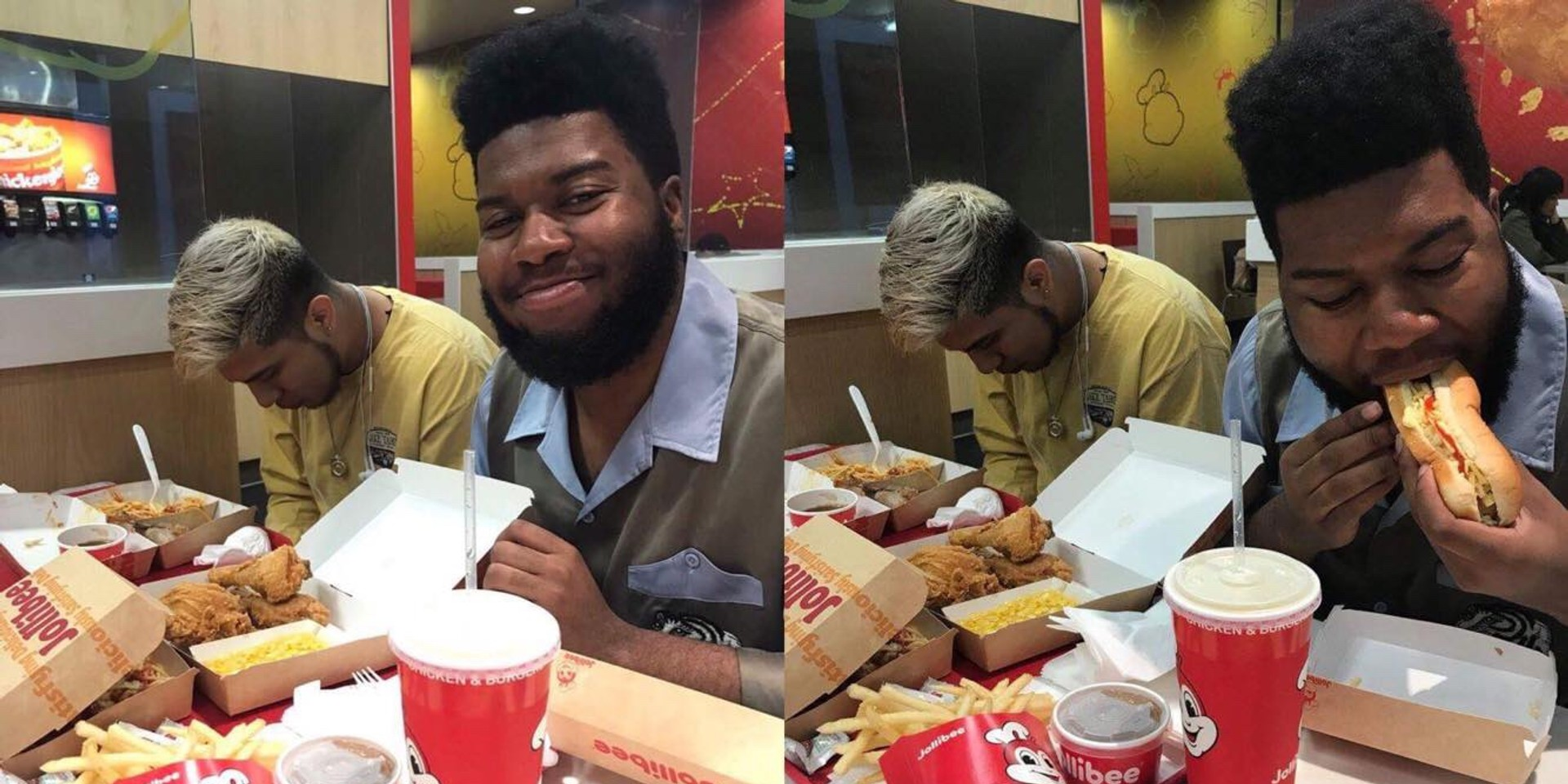 Khalid shows some love for Jollibee