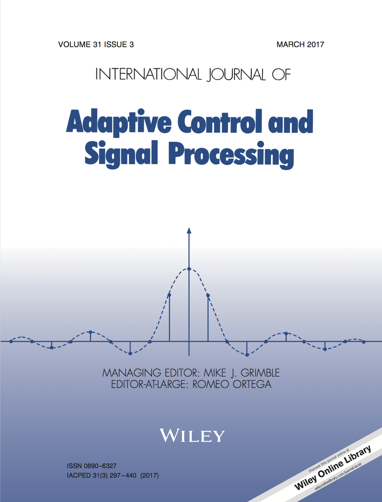 Template for submissions to International Journal of Adaptive Control and Signal Processing