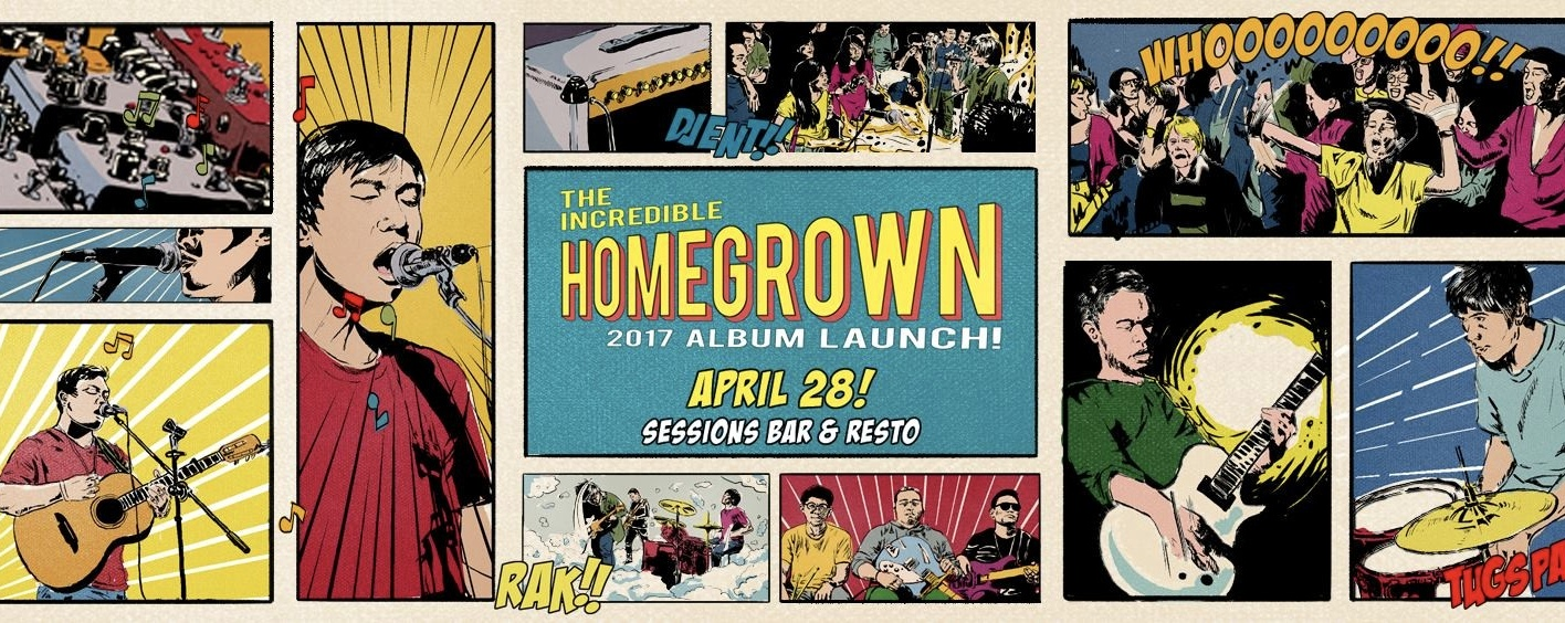 The Incredible Homegrown 2017 Album Launch