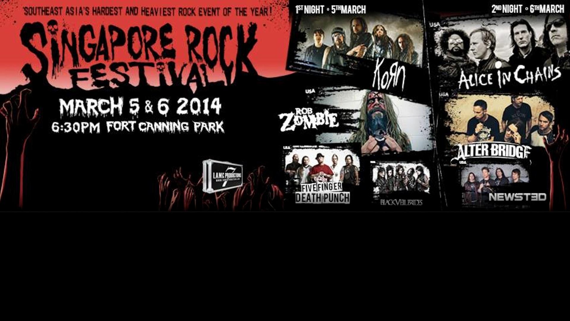 Singapore Rock Festival 2014 (Day 1)