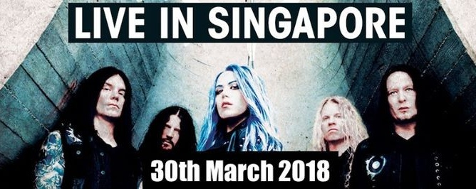 Arch Enemy - Live In Singapore 30th March 2018 (Good Friday)