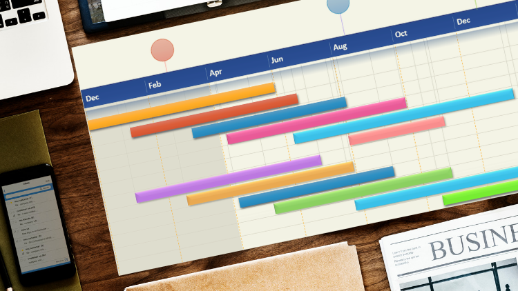 Powerful Excel Gantt charts -Effortless Project Management !