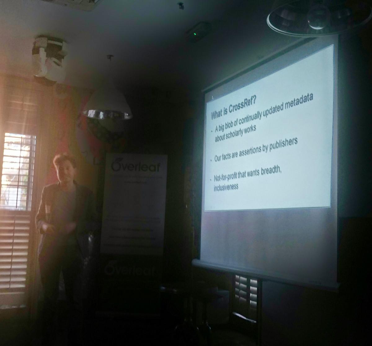 Overleaf futurepub 5 Karl CrossRef API demo