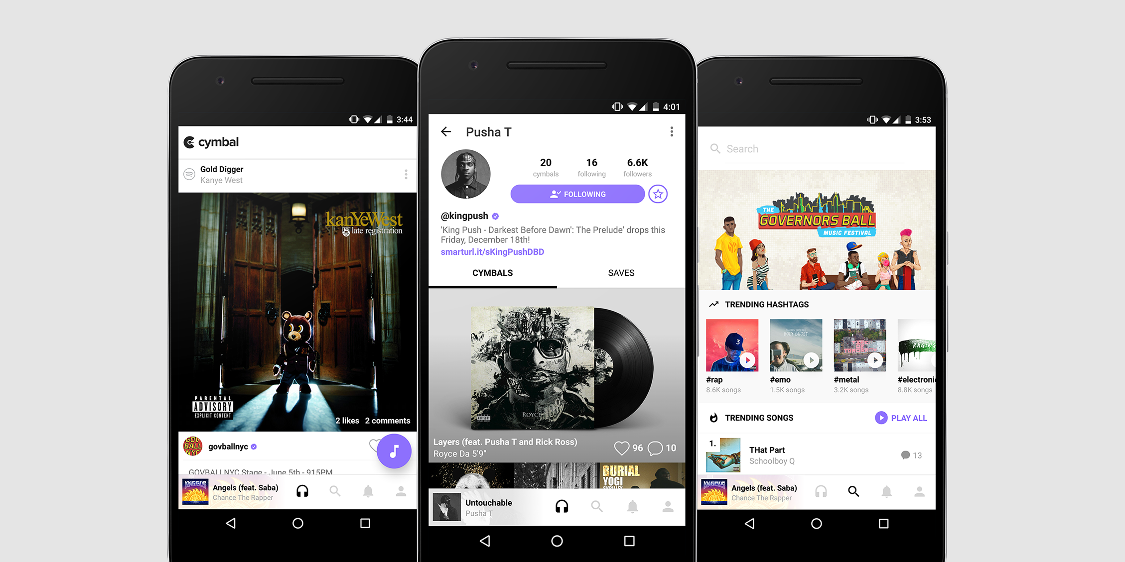 Get to know Cymbal, the Instagram for music lovers