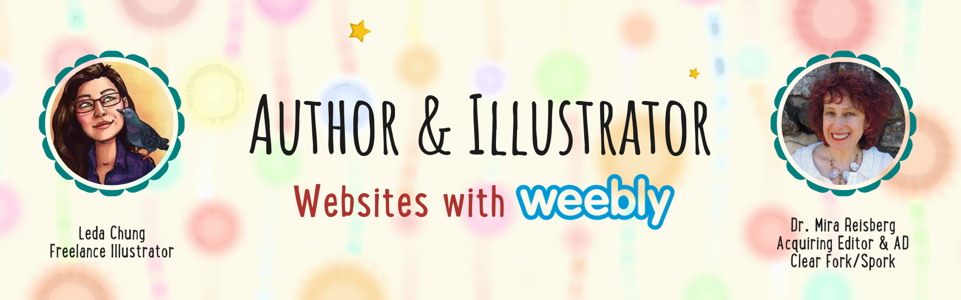 Author & Illustrator Websites with Weebly and Leda Chung at the Children's Book Academy
