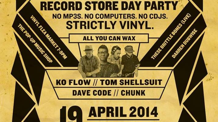 WAX ON WAX OFF ✖ Record Store Day Party