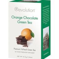 Orange Chocolate Green Tea from Revolution Tea