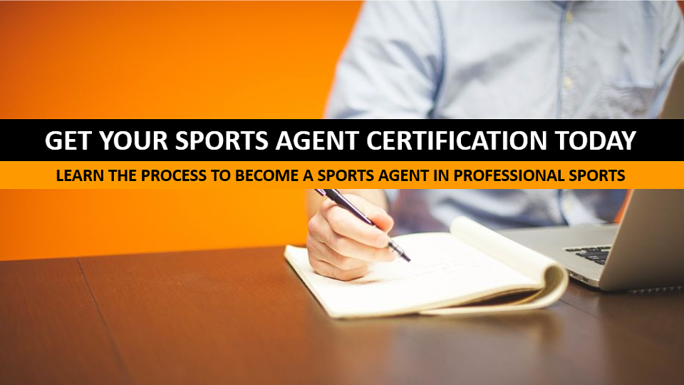Get Your Sports Agent Certification Sports University