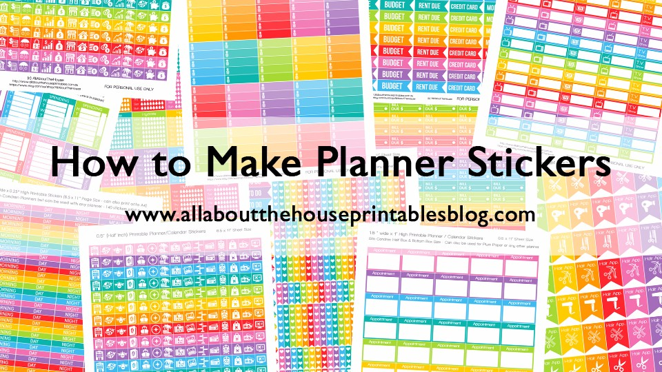 How to make planner stickers build a bigger online business for Create planner online
