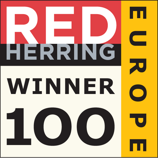 Red Herring Top 100 Europe Award Winner Badge
