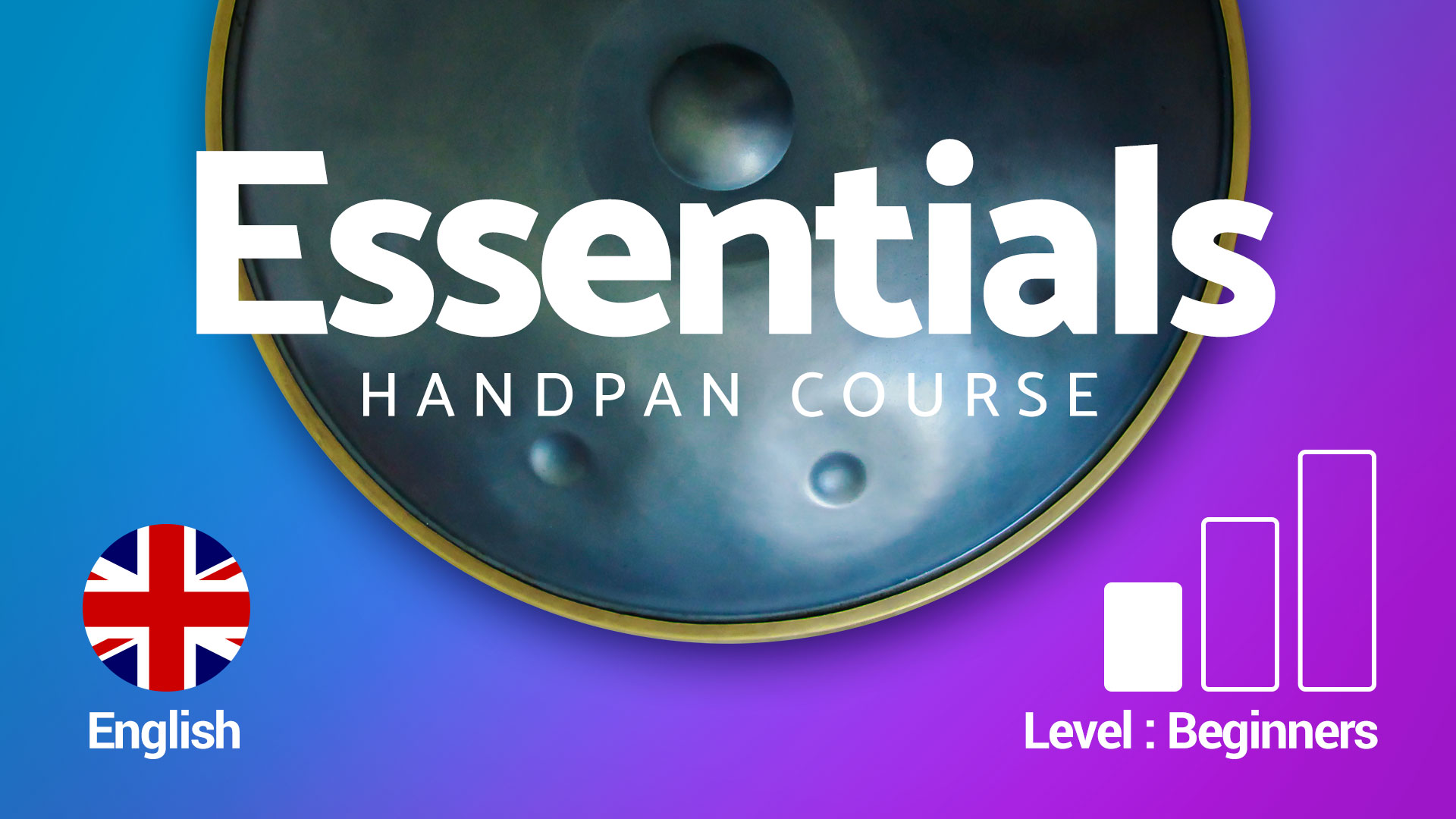 Handpan lessons & tutorials for beginners with David