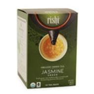 Jasmine Tea Bag Organic Fair Trade Green Tea Blend from Rishi Tea