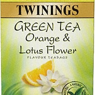 Green Tea with Orange & Lotus Flower from Twinings