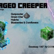 Minecraft Charged Creeper from Adagio Teas Custom Blends