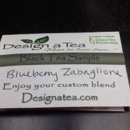 Blueberry Zabaglione Black Tea from Design a Tea