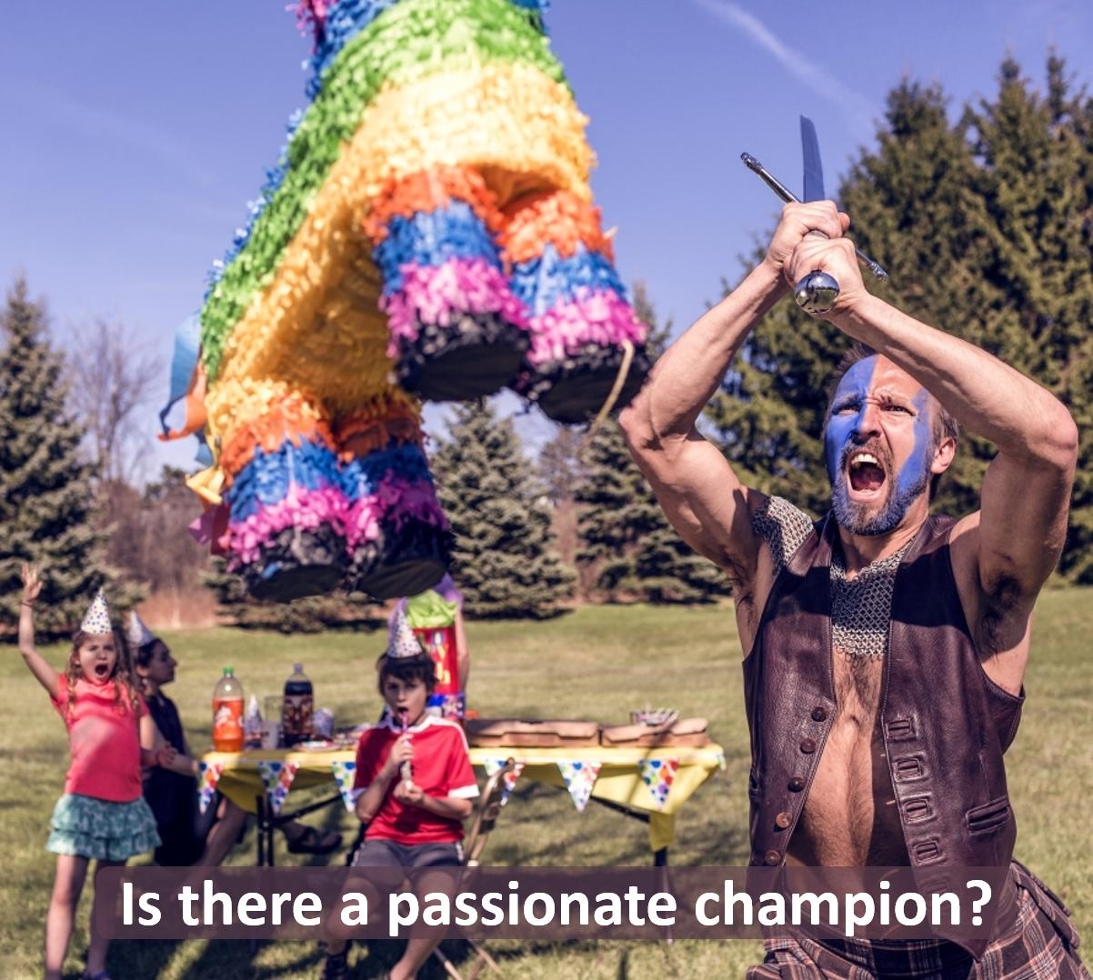 Passionate champion image