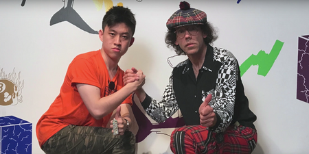 Rich Chigga shouts out Indomie and talks Rubik's cubes on Nardwuar interview — watch