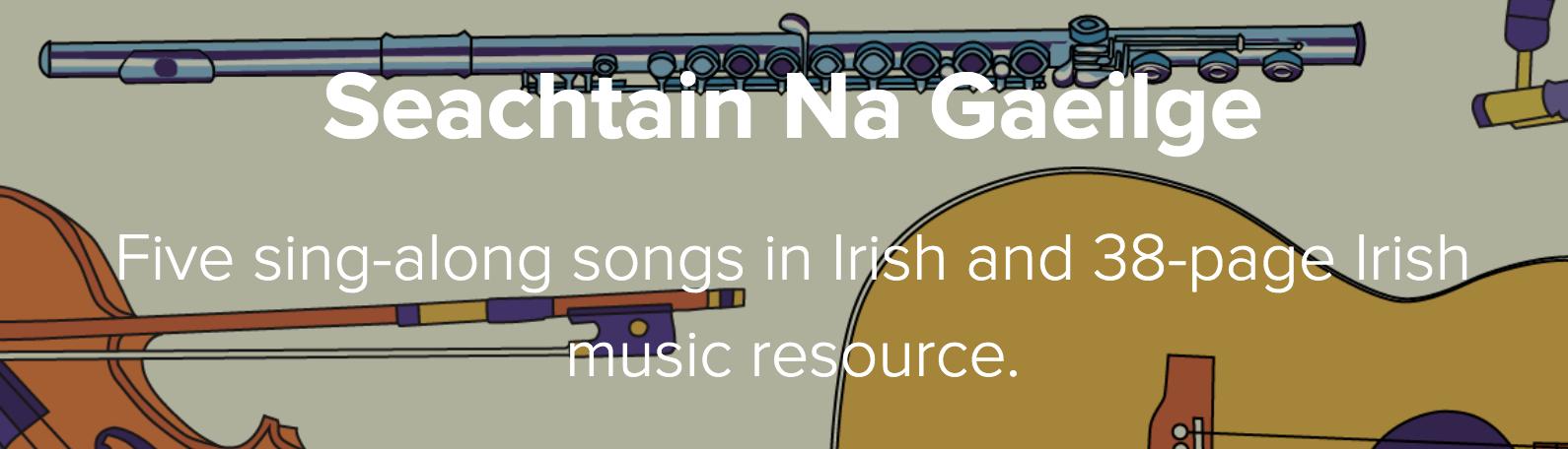 DabbledooMusic Seachtain Na Gaeilge Course