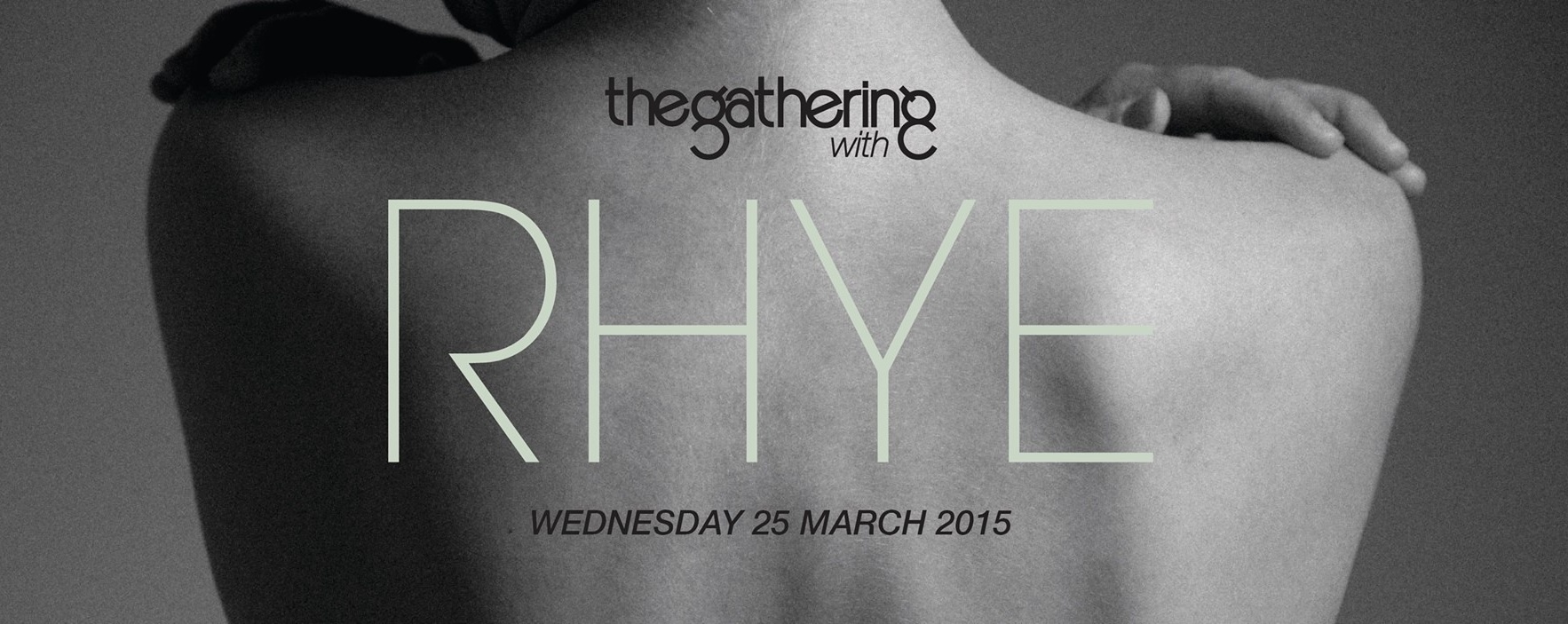 The Gathering with Rhye