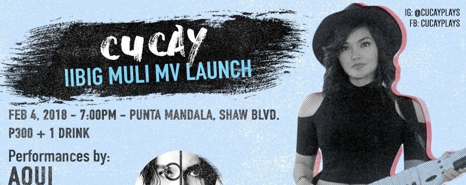 Cucay Pagdilao Music Video Launch