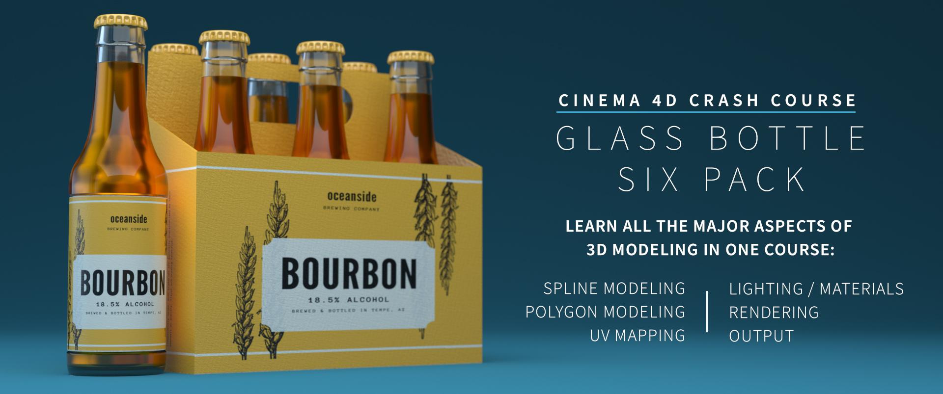 Cinema 4D Crash Course - Creating a Six Pack | Pixl Pyro