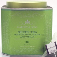 Bangkok  (Green Tea with Coconut, Ginger and Vanilla) from Harney & Sons