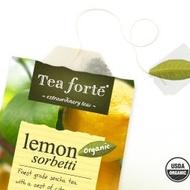 Lemon Sorbetti from Tea Forte