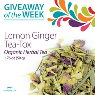 Lemon Ginger Tea-Tox from Steeped Tea