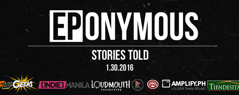 EPonymous - The Stories Told EP Launch