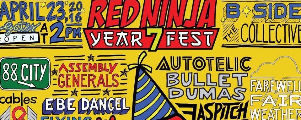 Red Ninja Year 7 Fest