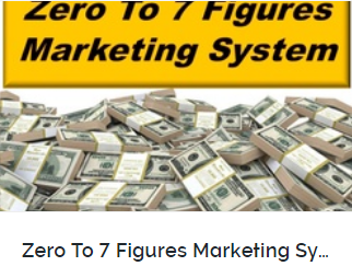 Zero to 7 figures marketing system
