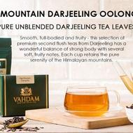 High Mountain Darjeeling Oolong Tea from Vahdam Teas