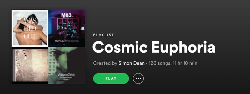 Cosmic Euphoria Playlist