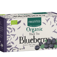 Organic Black Tea Blueberry from Fredsted