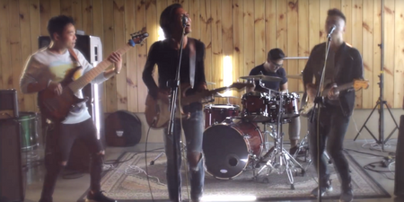 Gentle Bones' 'Geniuses and Thieves' gets the full-on rock treatment by The Façade
