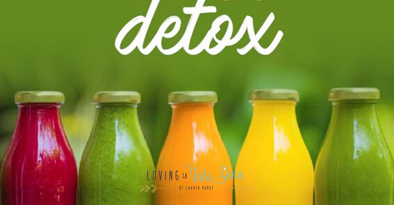 Guía definitiva para saber todo de un detox