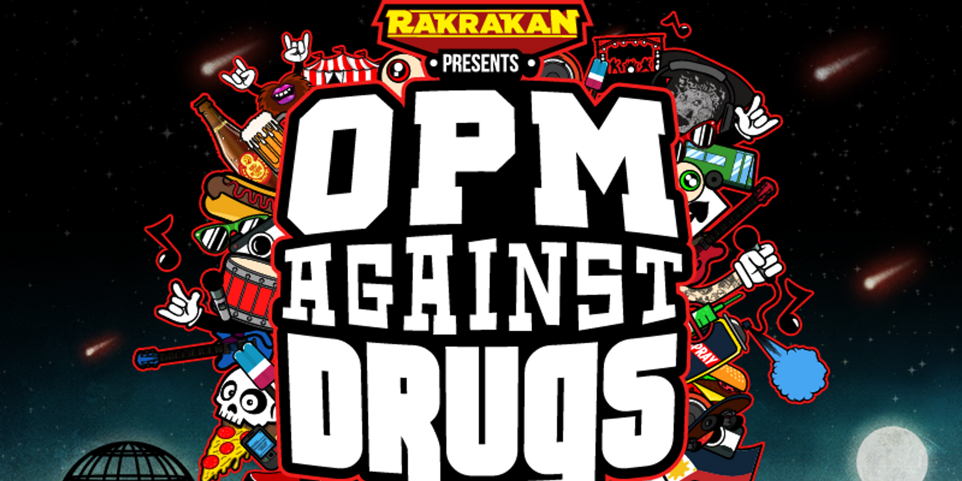 More acts withdraw from Rakrakan's OPM Against Drugs Festival, Tom's Story and False Apart added to line up
