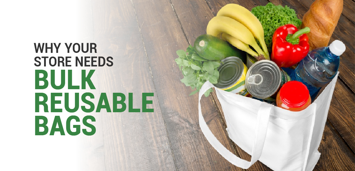 Make The Switch: Why Your Store Needs Bulk Reusable Bags