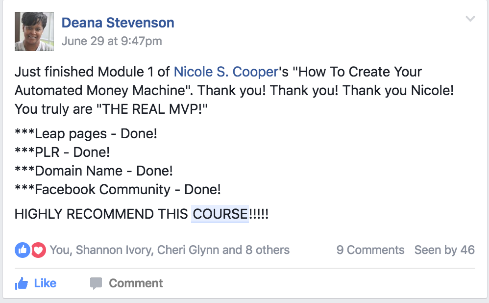 6 figure mlm blueprint online nicole s cooper you the 6 figure mlm blueprint malvernweather Image collections