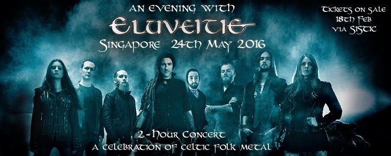 An evening with Eluveitie
