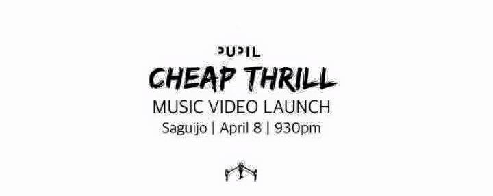 "Pupil ""Cheap Thrill"" Music Video Launch"