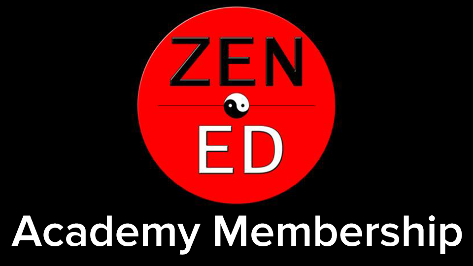 Zen Ed Academy, Logo, Zen Ed Academy Membership, Personal Development, Mediumship Training, Zen Rose Garden, Helping People Create BADASS Lives, Las Vegas, NV, David A Caren, Heather Kim Rodriguez