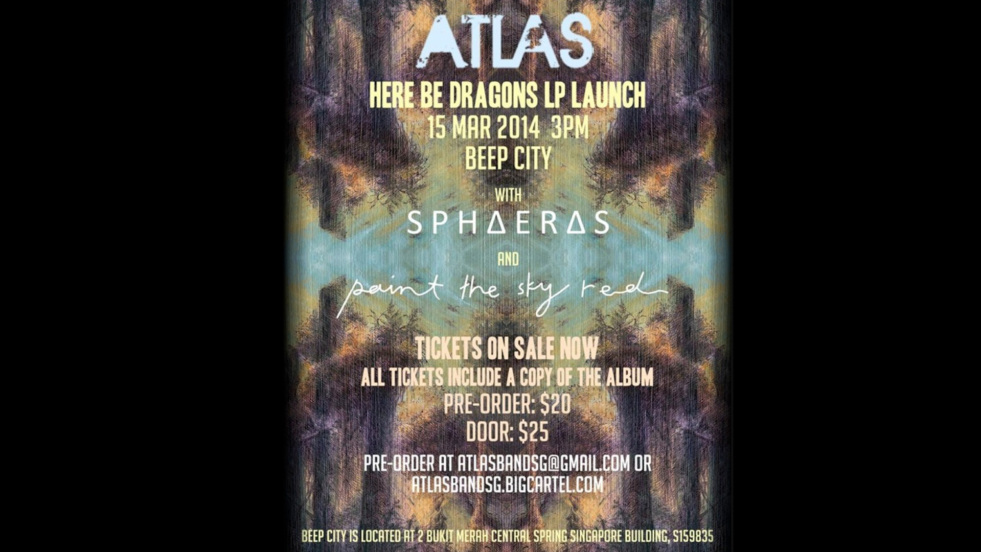 Atlas: Here Be Dragons LP Launch